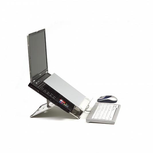 Ergonomische laptophouders